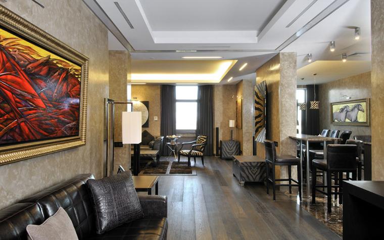 интерьер гостиной - фото № 5930