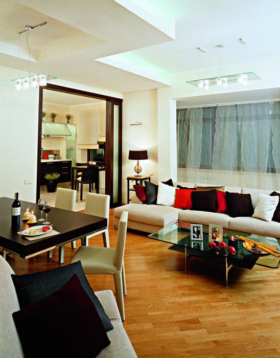 интерьер гостиной - фото № 6036