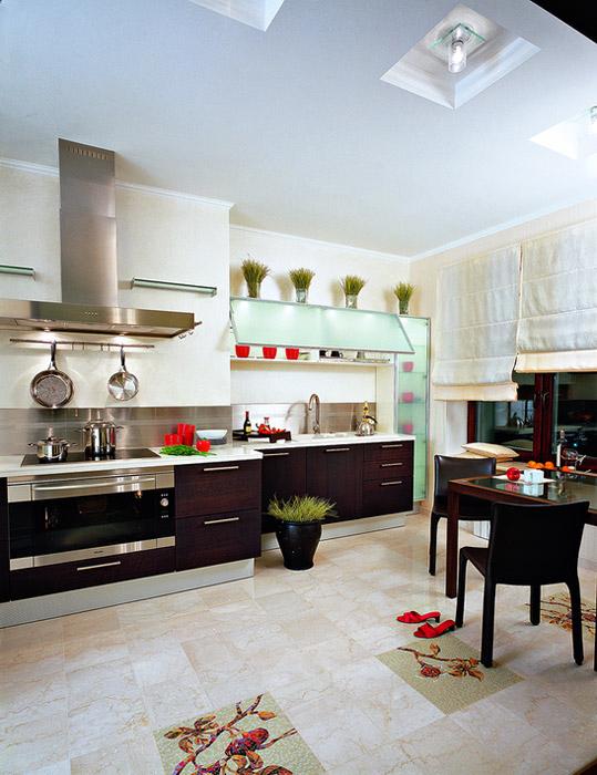 Квартира. кухня из проекта , фото №6037