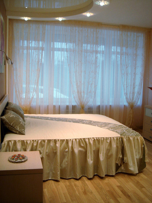 Квартира. спальня из проекта , фото №5198