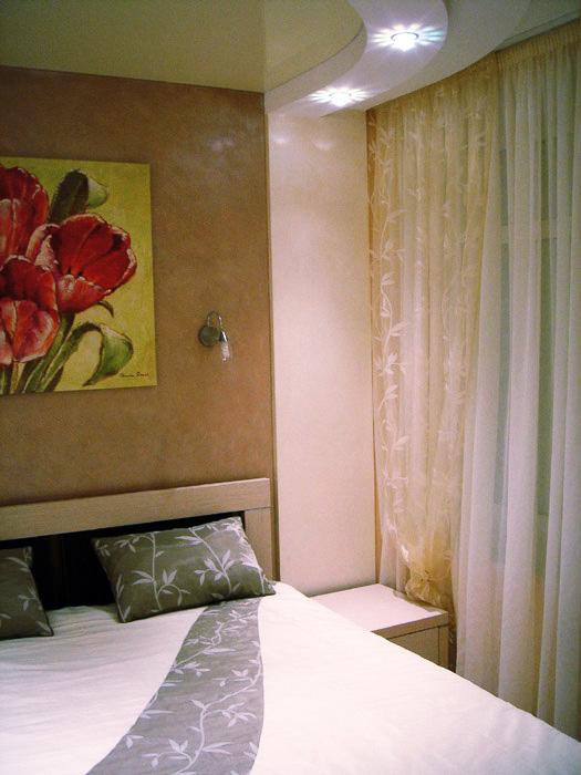 Квартира. спальня из проекта , фото №5199