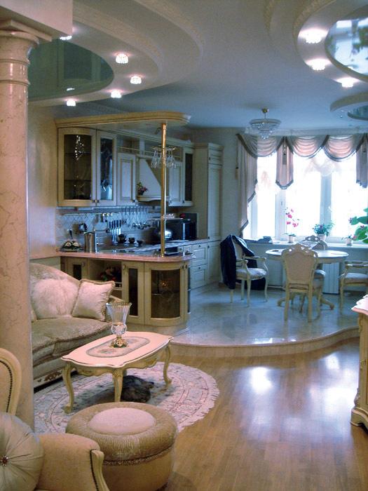 Квартира. кухня из проекта , фото №5201