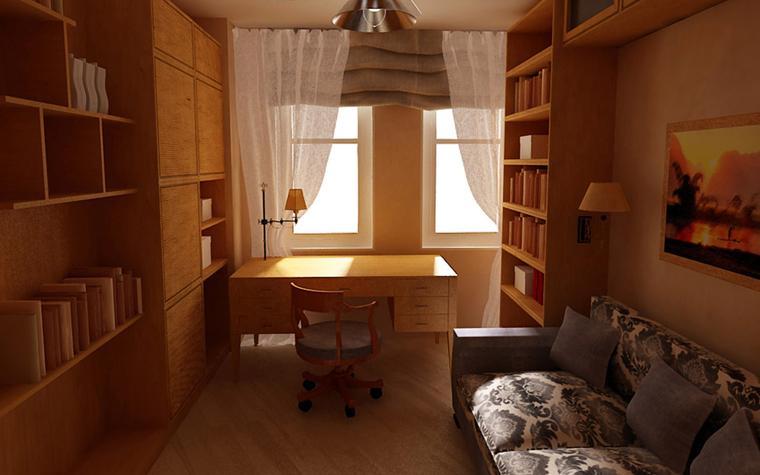 Фото № 6008 кабинет библиотека  Квартира