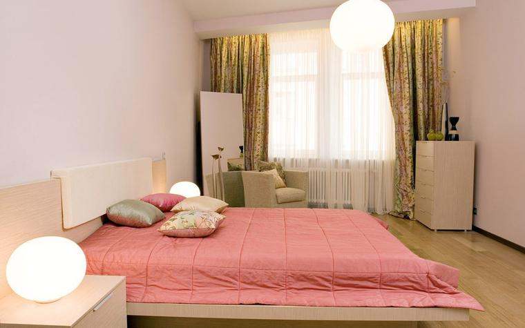 Квартира. спальня из проекта , фото №5233