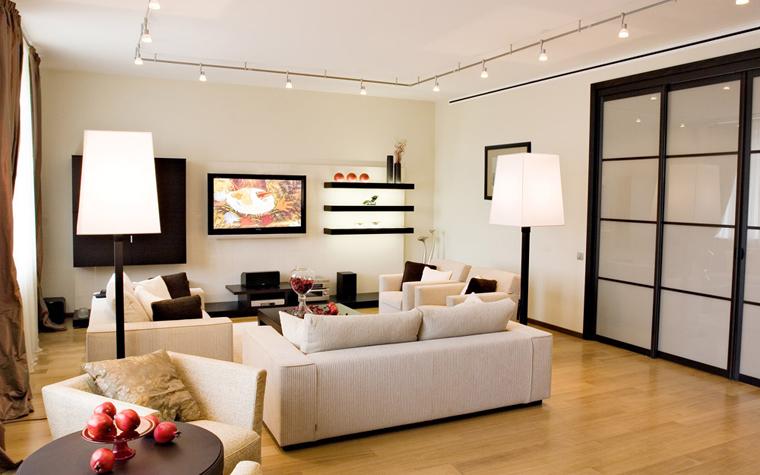 интерьер гостиной - фото № 5239