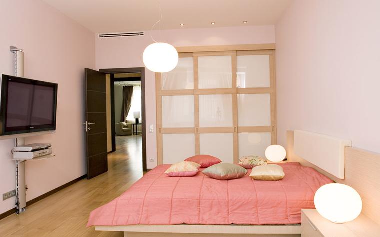 Квартира. спальня из проекта , фото №5234