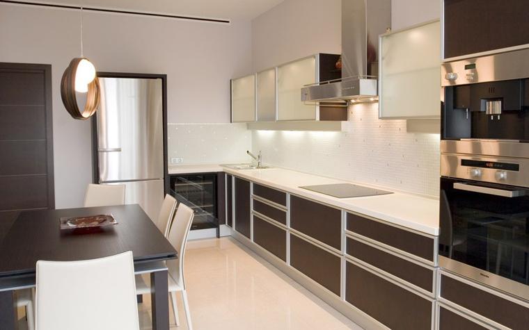 Квартира. кухня из проекта , фото №5229