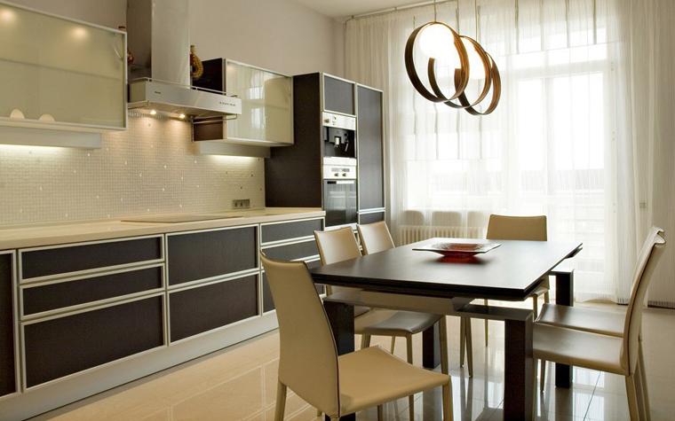 Квартира. кухня из проекта , фото №6114