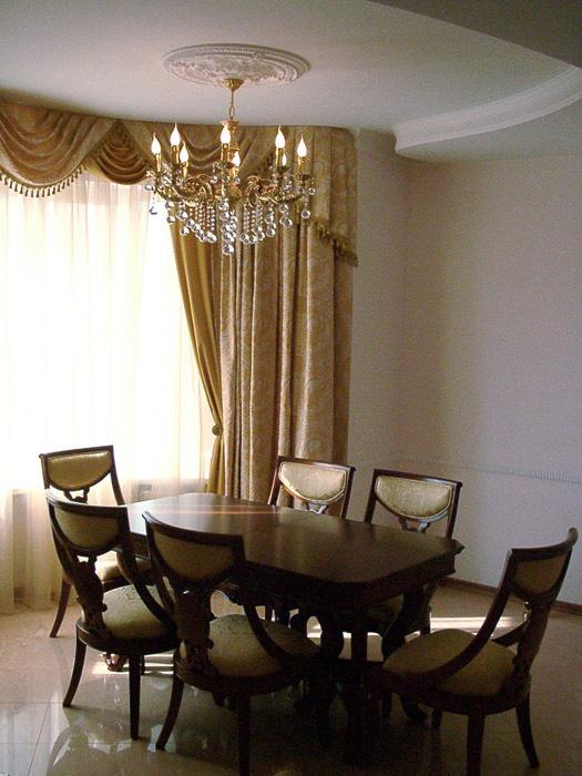 Квартира. столовая из проекта , фото №5243