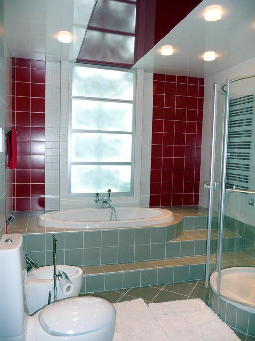 интерьер ванной - фото № 5252