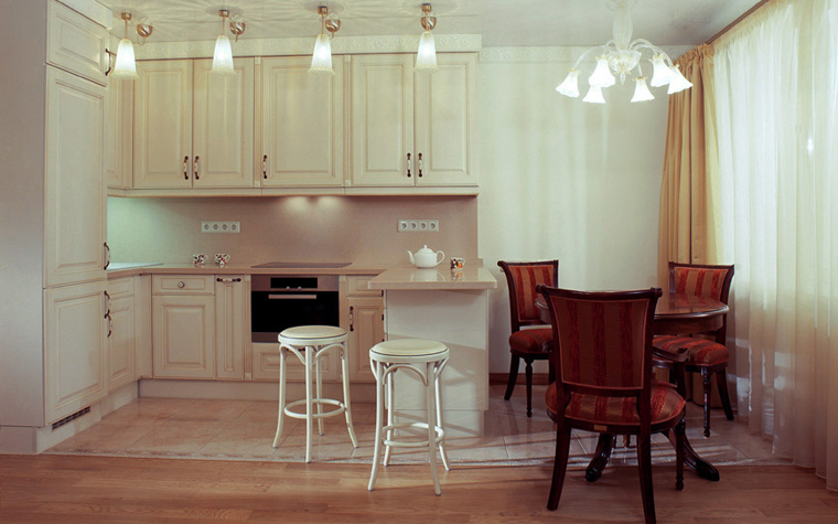 Фото № 3771 кухня  Квартира