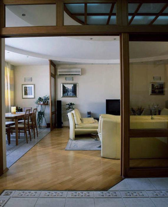 интерьер гостиной - фото № 5986