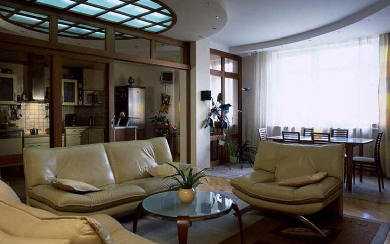 интерьер гостиной - фото № 5987