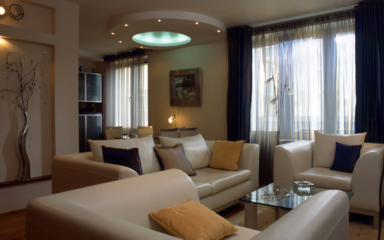 Квартира. гостиная из проекта , фото №5996