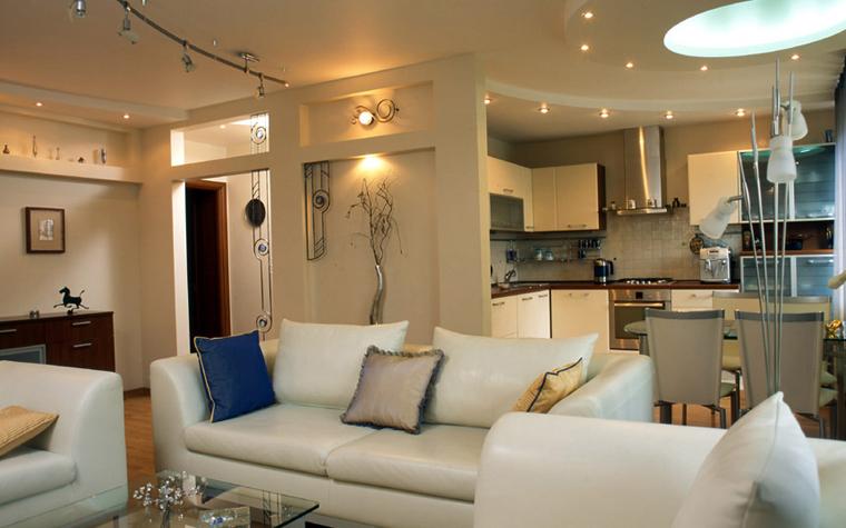 Квартира. гостиная из проекта , фото №5997