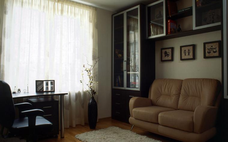Квартира. кабинет из проекта , фото №6000