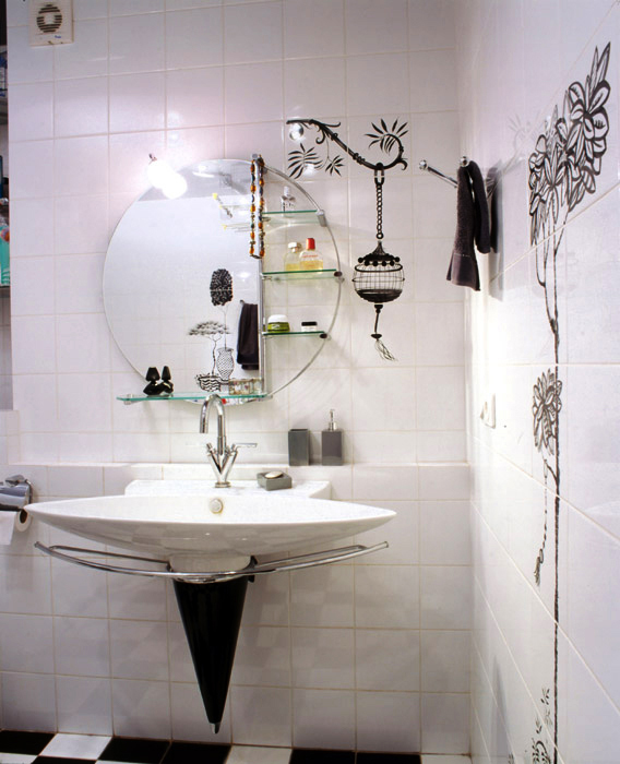 Квартира. ванная из проекта , фото №6003