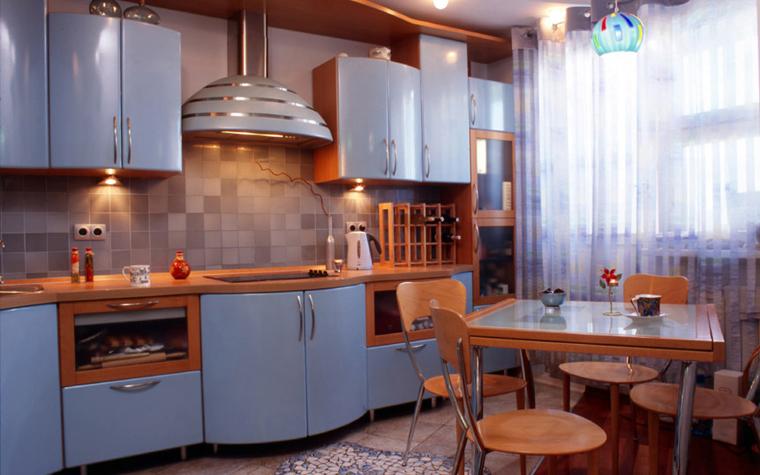 Квартира. кухня из проекта , фото №6005