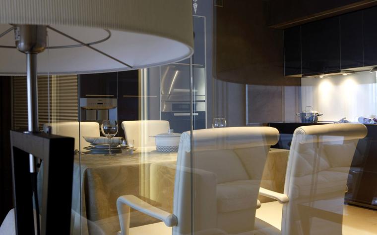 Квартира. столовая из проекта , фото №3061