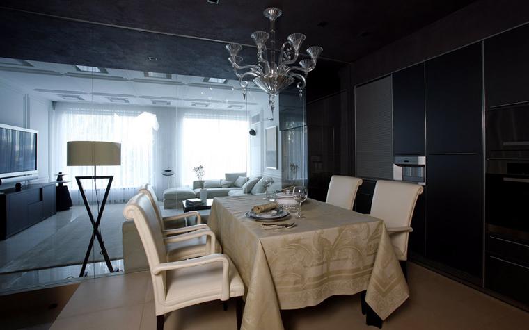 Квартира. столовая из проекта , фото №3063