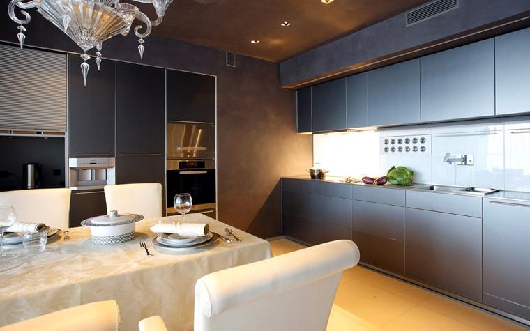 Квартира. кухня из проекта , фото №3427