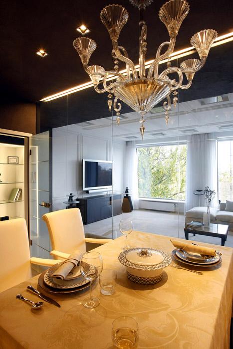Квартира. столовая из проекта , фото №3065