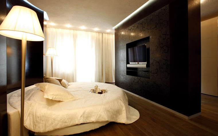 Квартира. спальня из проекта , фото №3071