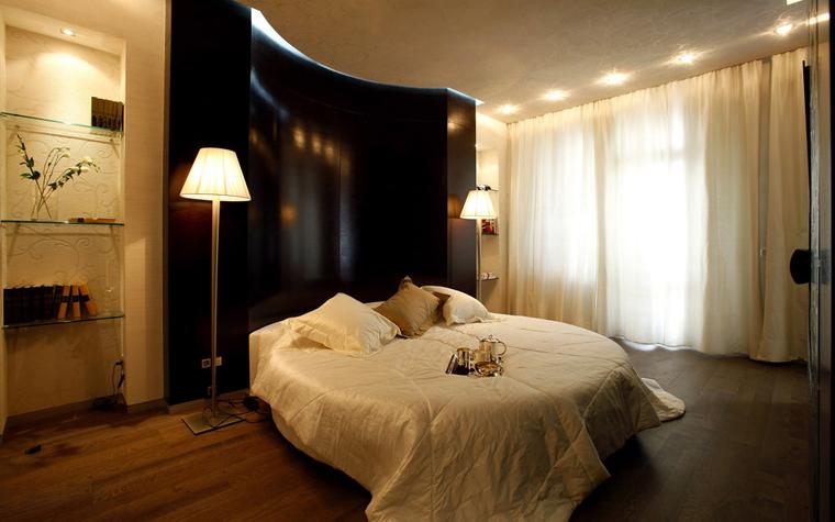 Квартира. спальня из проекта , фото №3072