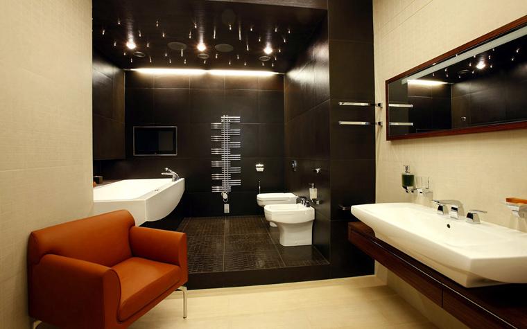 Квартира. ванная из проекта , фото №3078