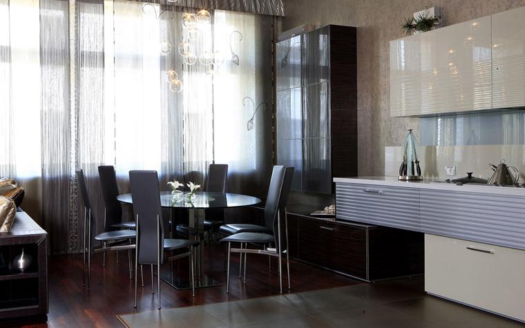 Квартира. столовая из проекта , фото №40513