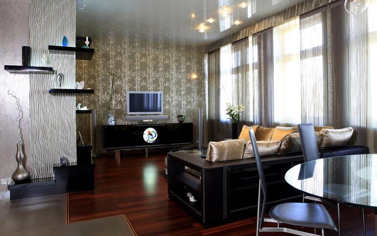 Квартира. гостиная из проекта , фото №3344