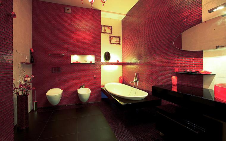 Квартира. ванная из проекта , фото №3355