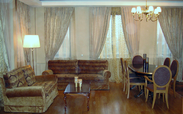 интерьер гостиной - фото № 4709