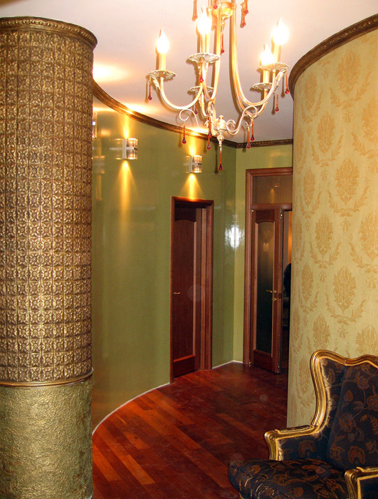 интерьер холла - фото № 4713