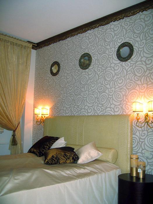 Квартира. спальня из проекта , фото №4717
