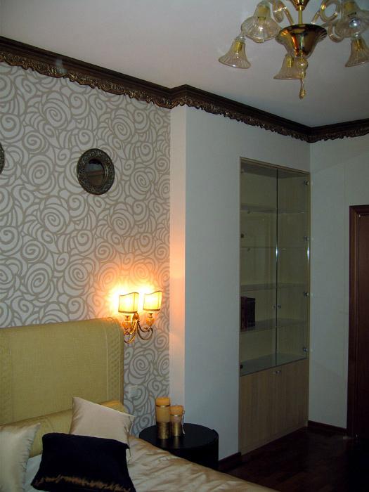 Квартира. спальня из проекта , фото №4718