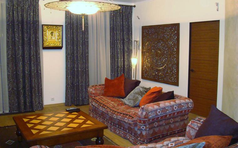 Квартира. гостиная из проекта , фото №4727