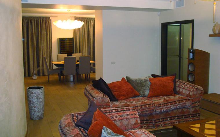 Квартира. гостиная из проекта , фото №4729