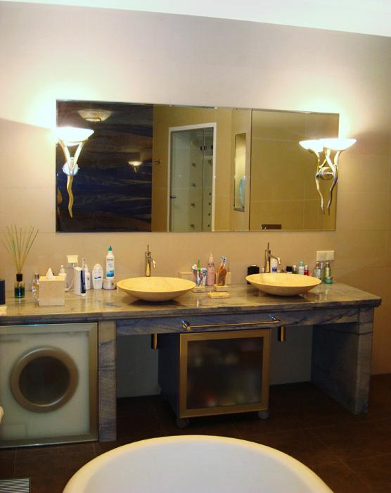 Квартира. ванная из проекта , фото №4724