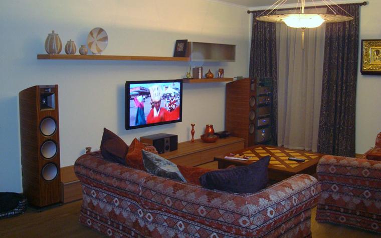 Квартира. гостиная из проекта , фото №4730