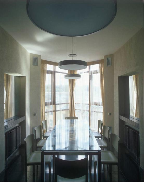Квартира. столовая из проекта , фото №4840