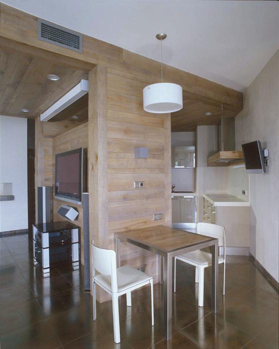 Квартира. кухня из проекта , фото №4845