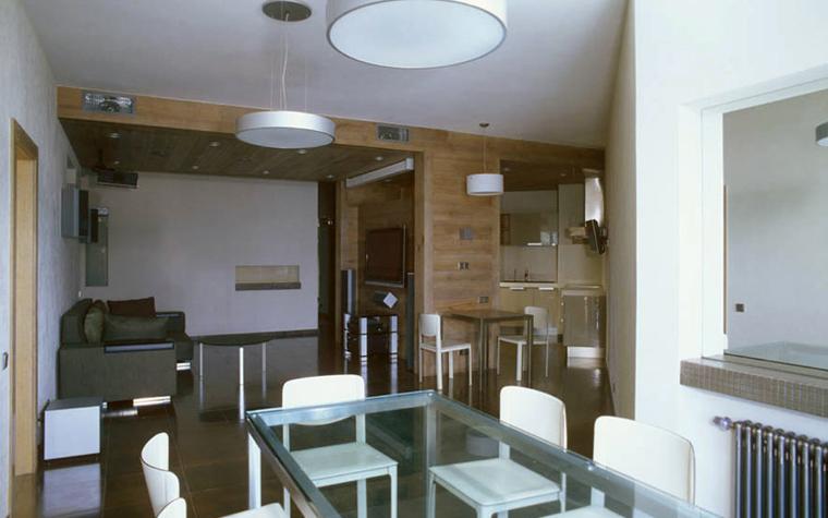 Квартира. столовая из проекта , фото №4841