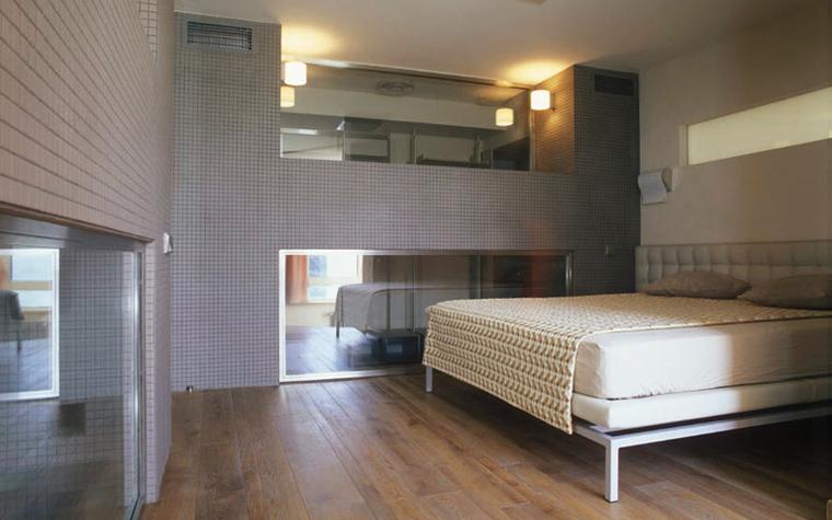 Квартира. спальня из проекта , фото №4852
