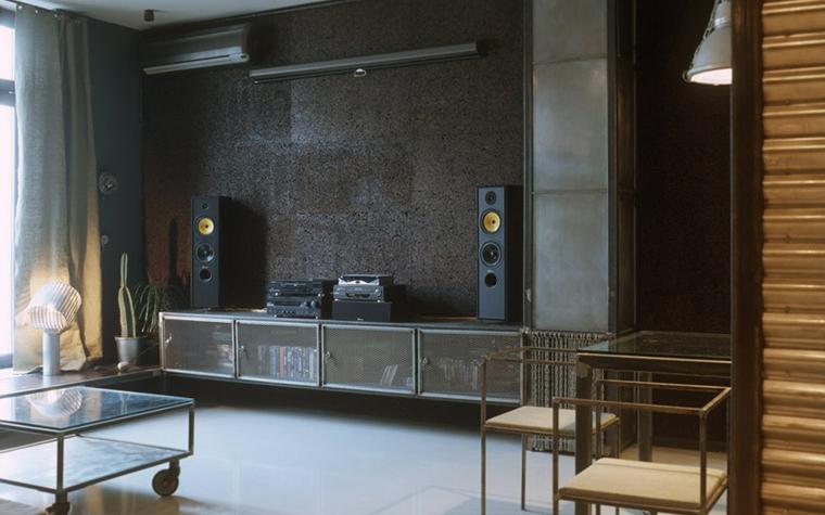 интерьер гостиной - фото № 4856