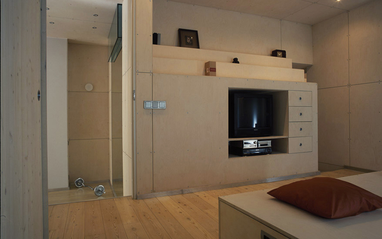 Квартира. спальня из проекта , фото №4865
