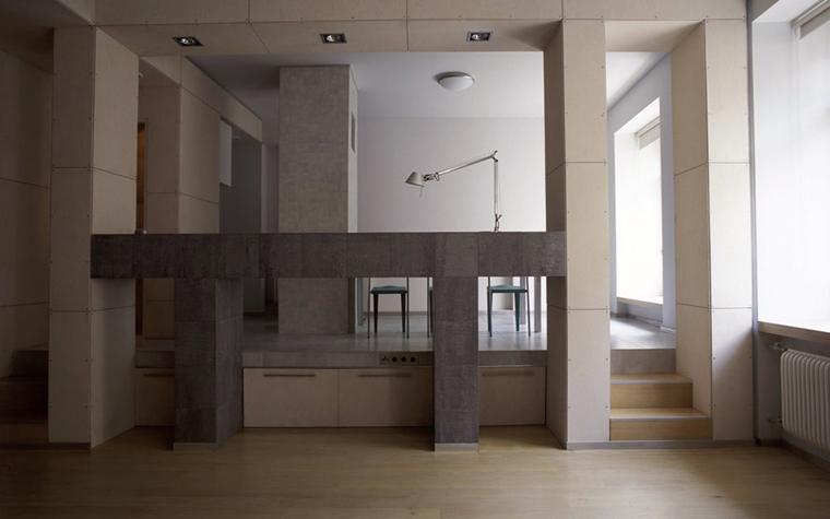 Квартира. столовая из проекта , фото №4869