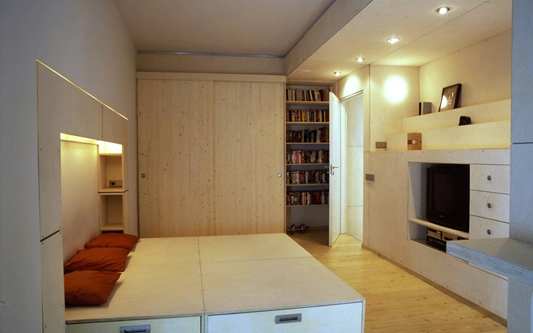Квартира. спальня из проекта , фото №4866