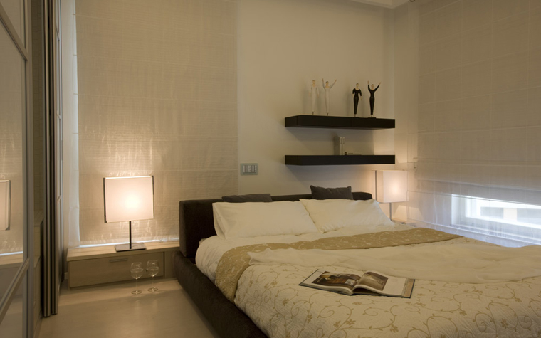интерьер спальни - фото № 5003