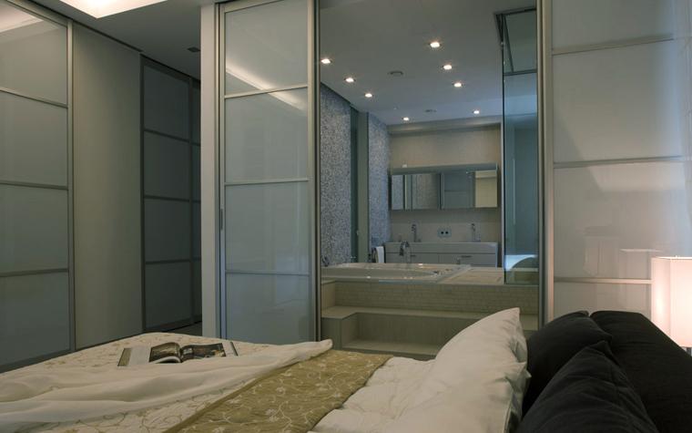 интерьер спальни - фото № 5005